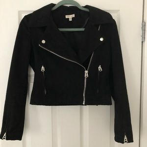 Black Moto jacket by silence and noise
